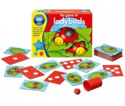 The game of ladybirds, räknespel