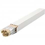 Natur Line Penslar, 14, B: 12 mm, Långa skaft, 12 st.