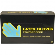 Latex handskar, stl. large , , latex, 100st.