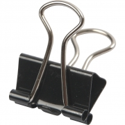 Clips, B: 19 mm, 40 st./ 1 förp.