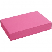Creativ papper, A4 210x297 mm,  80 g, pink, 500ark