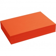 Creativ papper, A4 210x297 mm,  80 g, intensiv orange, 500ark