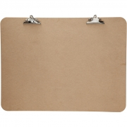 XL Clipboard, stl. 75x100 cm, tjocklek 5 mm, MDF, 1st.
