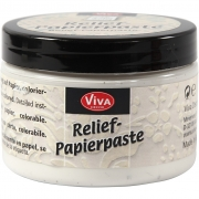 Reliefpasta, old white, 150ml