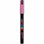 Uni Posca Marker , spets: 0,7 mm,  PC-1MR , metallic pink, Extra fine, 1st.