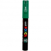 Posca Marker , spets: 0,7 mm,  PC-1M , green, Extra fine, 1st.