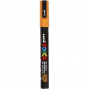 Uni Posca Marker , spets: 0,9-1,3 mm,  PC-3M , bright yellow, Fine, 1st.