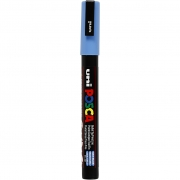 Posca Marker , spets: 0,9-1,3 mm,  PC-3M , sky blue, Fine, 1st.