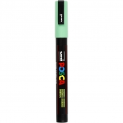 Uni Posca Marker , spets: 0,9-1,3 mm,  PC-3M , light green, Fine, 1st.