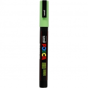 Uni Posca Marker , spets: 0,9-1,3 mm,  PC-3M , apple green, Fine, 1st.