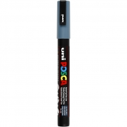 Posca Marker , spets: 0,9-1,3 mm,  PC-3M , slate grey, Fine, 1st.