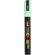Uni Posca Marker , spets: 2,5 mm,  PC-5M , light green, Medium, 1st.
