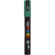 Uni Posca Marker , spets: 2,5 mm,  PC-5M , green, Medium, 1st.