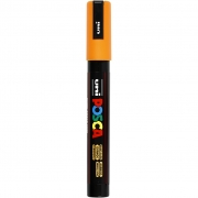 Uni Posca Marker , spets: 2,5 mm,  PC-5M , orange, Medium, 1st.