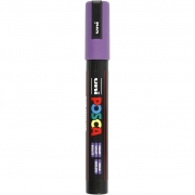 Uni Posca Marker , spets: 2,5 mm,  PC-5M , violet, Medium, 1st.