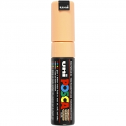Uni Posca Marker , spets: 8 mm,  PC-8K , pale orange, Broad, 1st.