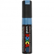 Uni Posca Marker , spets: 8 mm,  PC-8K , metallic blue, Broad, 1st.