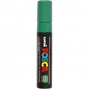 Uni Posca Marker , spets: 15 mm,  PC-17K , green, Extra broad, 1st.