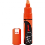 Chalk Marker, spets: 8 mm, neonorange, 1st.