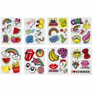 Soft Stickers,  12,2x17,75 cm, 8ark