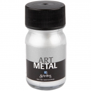 Art Metal färg, silver, 30ml