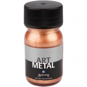 Art Metal färg, koppar, 30ml