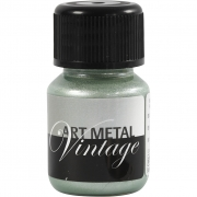 Art Metal färg, pärlgrön, 30ml