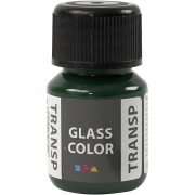 Glasfärg transparent, 35 ml, briljantgrön