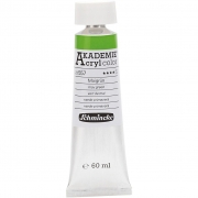 Schmincke AKADEMIE® Acryl color , may green (557), semi-transparent, good fade resistant, 60ml