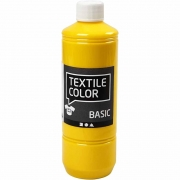 Textile Color textilfärg, primärgul, 500ml