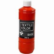 Textile Color textilfärg, orange, 500ml