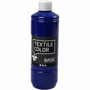 Textile Color textilfärg, primärblå, 500ml