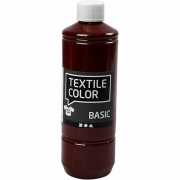 Textile Color textilfärg, brun, 500ml