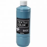Textile Color textilfärg, duvblå, 500ml