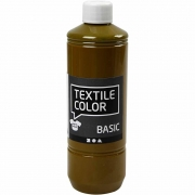 Textile Color textilfärg, olivbrun, 500ml