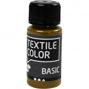 Textile Color textilfärg, olivbrun, 50ml
