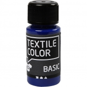 Textile Color textilfärg, primärblå, 50ml