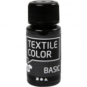 Textile Color textilfärg, svart, 50ml