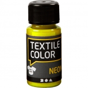 Textile Color textilfärg, neongul, 50ml