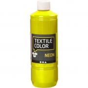 Textile Color textilfärg, neongul, 500ml