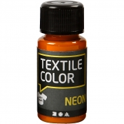 Textile Color textilfärg, neonorange, 50ml
