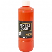 Textile Color textilfärg, neonorange, 500ml