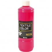 Textile Color textilfärg, neonrosa, 500ml
