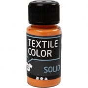 Textile Solid textilfärg, orange, täckande, 50 ml/ 1 flaska