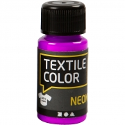 Textile Color textilfärg, neonlila, 50ml