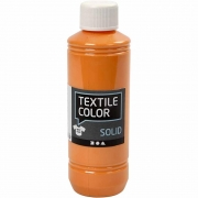 Textile Solid textilfärg, orange, täckande, 250 ml/ 1 flaska