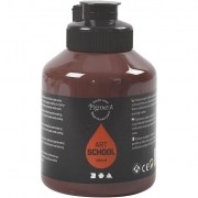 Pigment Art School, burnt umber, opaque, , 500ml