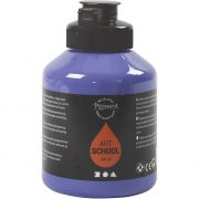Pigment Art School, violet blue, semi-opaque, good fade resistant, 500ml