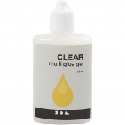 Clear - Multi glue gel, , 27ml