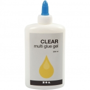 Clear - Multi glue gel, 236ml